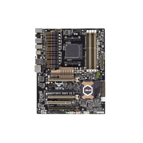 SABERTOOTH 990FX R2.0 AMD ATX Motherboard - with AM3+ socket