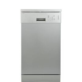 ESSENTIALS CDW45S18 Slimline Dishwasher - Dark Silver Reviews