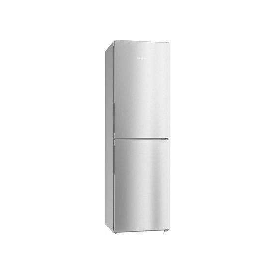 Miele KFN 29142 D clst 50/50 Fridge Freezer - Clear Steel