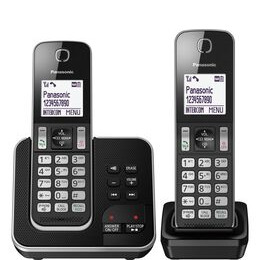 Panasonic KX-TGD622EB Cordless Phone - Twin Handsets Reviews