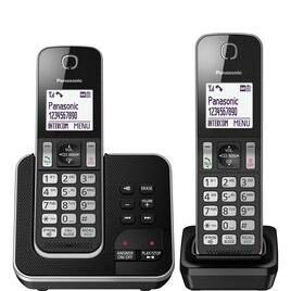 Panasonic KX-TGD622EB Cordless Phone - Twin Handsets Reviews