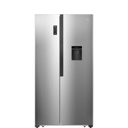 LOGIK LSBSDX18 American-Style Fridge Freezer - Inox Silver Reviews