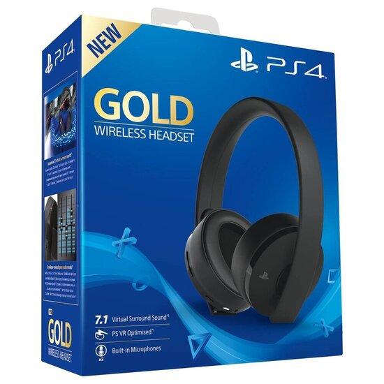 Sony Gold PS4 Wireless