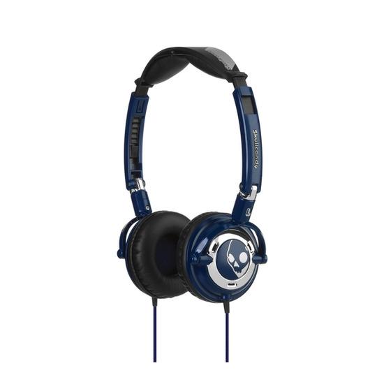 SKULLCandy S5LWDZ-131 Headphones - Navy & Chrome