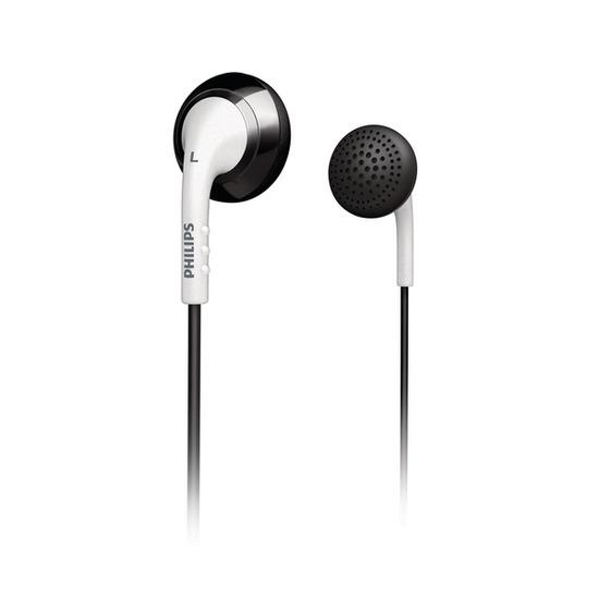 Philips SHE2670 Headphones - Black & White