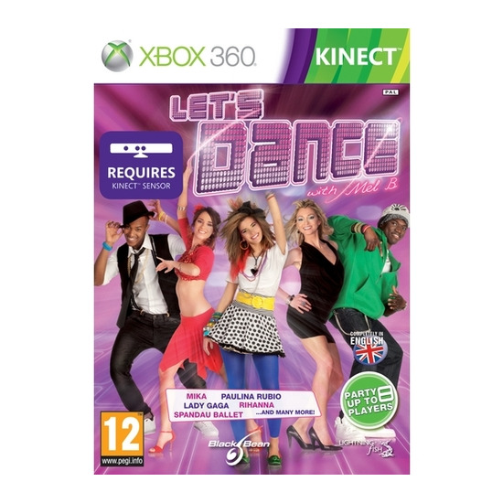 Microsoft Let's Dance with Mel B - for XBox 360 Kinect