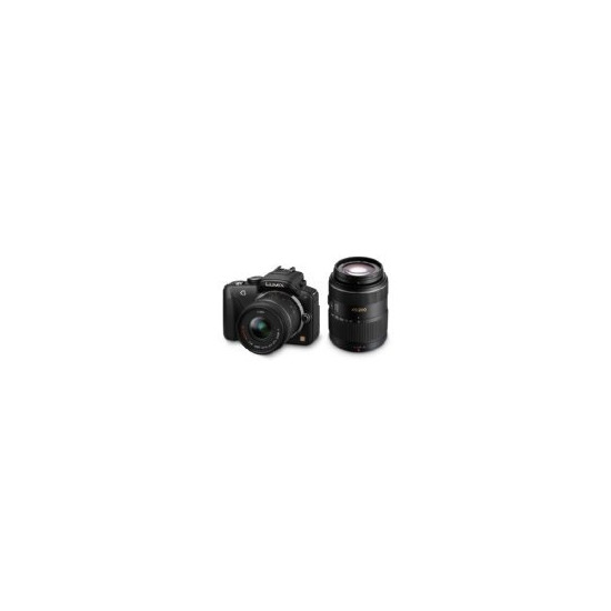 Panasonic Lumix DMC-G3 with 14-42mm lens and 45-200mm lenses