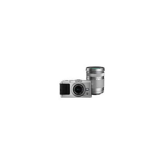 Olympus PEN E-P3 with 17mm and 14-42mm lenses