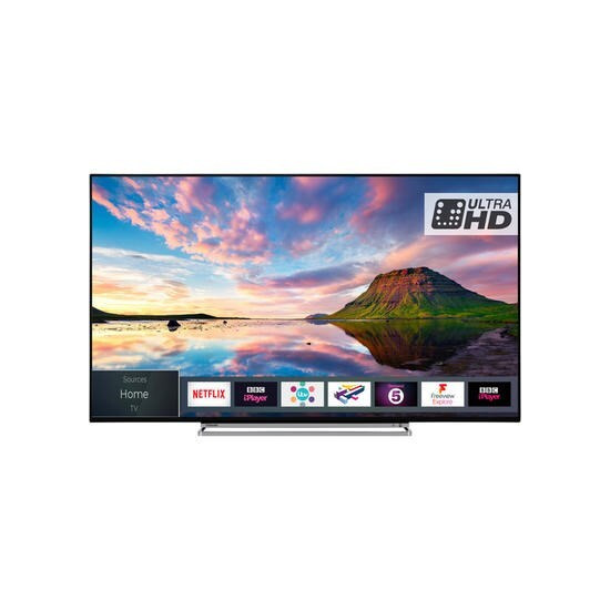 Toshiba 49U5863DB 49 4K Ultra HD HDR LED Smart TV with Dolby Vision