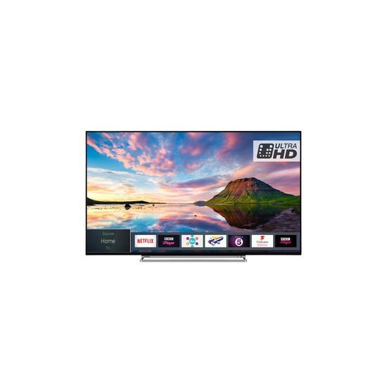 Toshiba 43U5863DB 43 4K Ultra HD HDR LED Smart TV with Dolby Vision