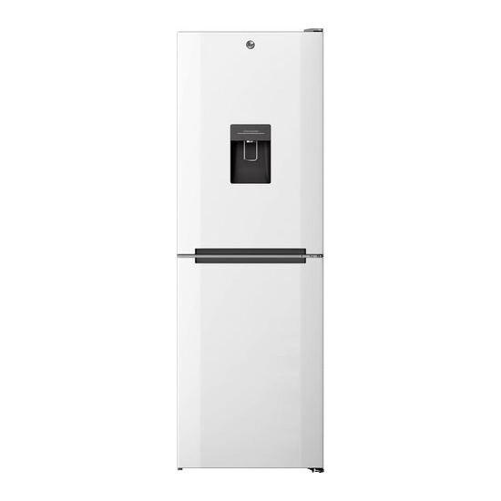 Hoover HMNB 6182W5WDK 50/50 Fridge Freezer - Stainless Steel