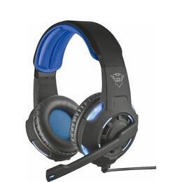 TRUST GXT 350 Radius 7.1 Gaming Headset - Black & Blue Reviews