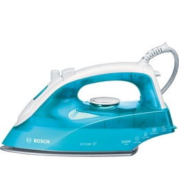 Bosch TDA2633GB Steam Iron - Turquoise & White Reviews