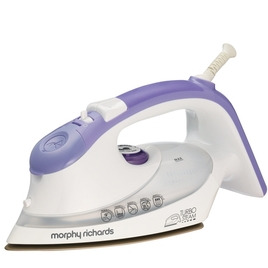 Morphy Richards 40631 Steam Iron - Mauve and White Reviews