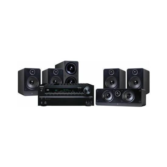 Onkyo TXNR609 and Q Acoustics 2000