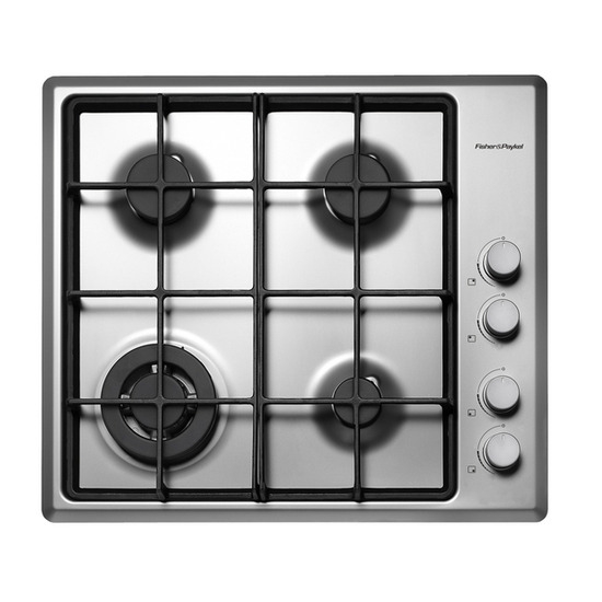 FISHER & PAYKEL CG604DWFCX1 Gas Hob - Stainless steel