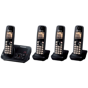 Photo of Panasonic KX-TG6624EB (Quad) Landline Phone