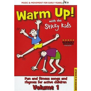 Photo of The Sticky Kids Warm Up! With The Sticky Kids Compact Disc CD