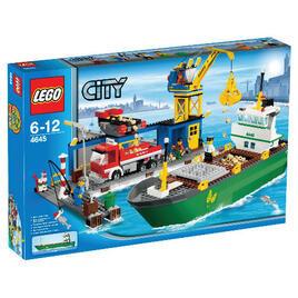 Lego City Harbour 4645 Reviews