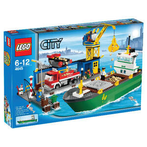 Photo of Lego City Harbour 4645 Toy