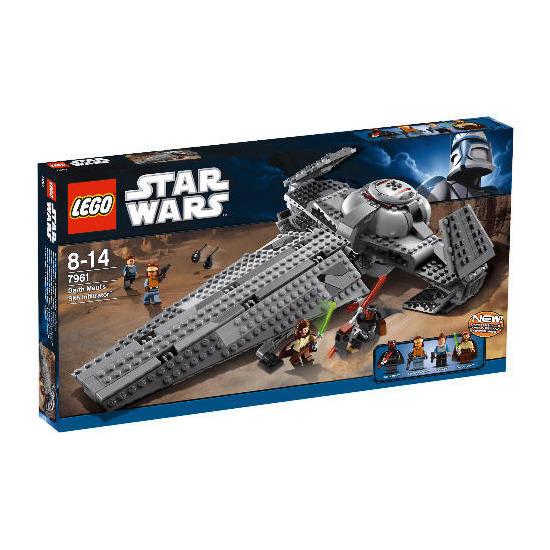 Lego Star Wars Darth Mauls Sith Infiltrator 7961
