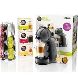 Dolce Gusto by Krups Mini Me KP128BUN Coffee Machine Starter Kit - Black & Grey Reviews