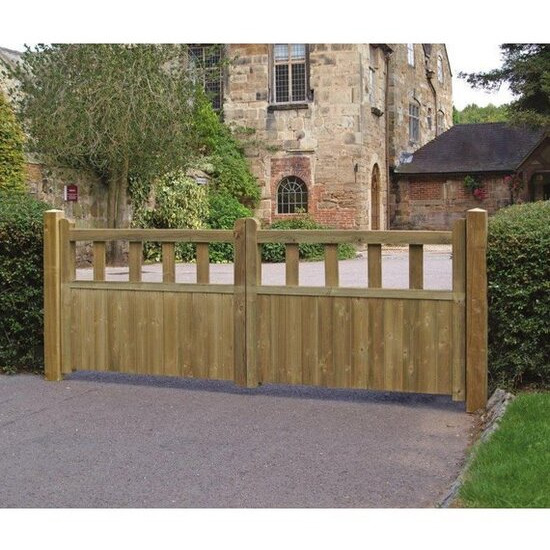 Grange Fencing Fortress Double Gate