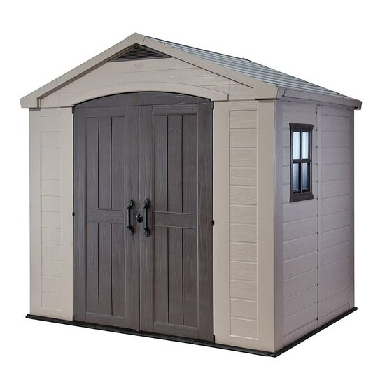 Keter Apex Plastic Garden Shed - 8 x 11ft