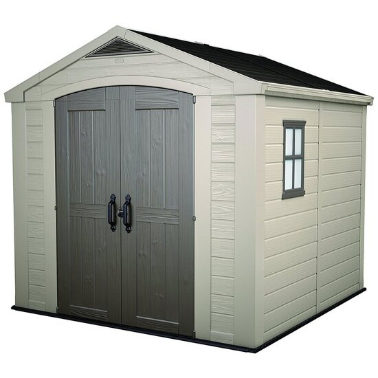 Keter Apex Plastic Garden Shed - 8 x 8ft