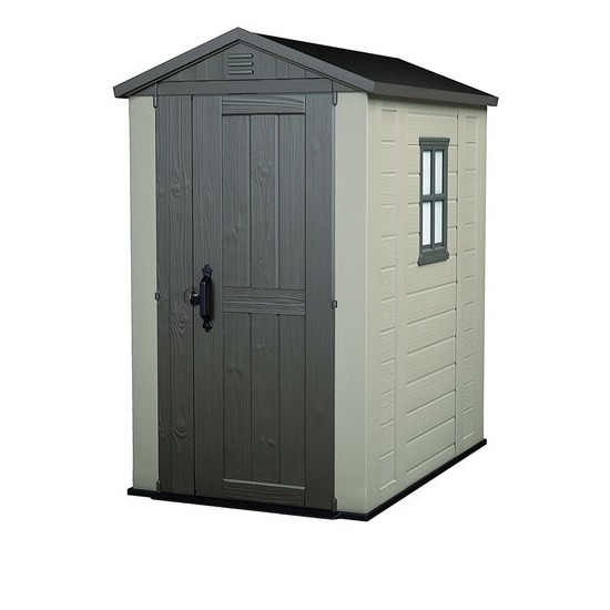 Keter Apex Plastic Garden Shed - 4 x 6ft