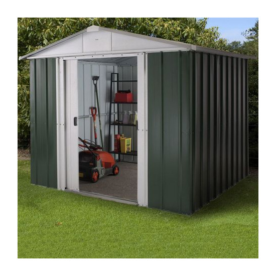 Yardmaster - 8 x 6 Metal Apex Shed