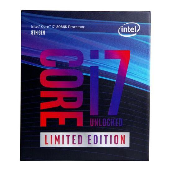 Intel Core i7-8086K Unlocked Special Edition Processor