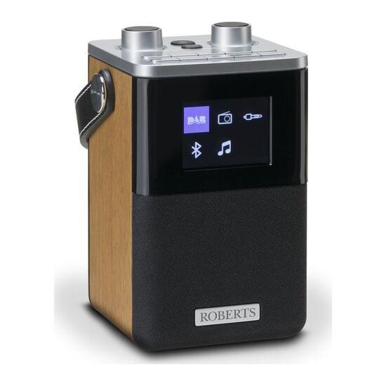 Roberts Blutune T2 Portable DAB+/FM Bluetooth Radio - Black