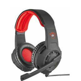 TRUST GXT 310 Radius Gaming Headset - Black & Red Reviews