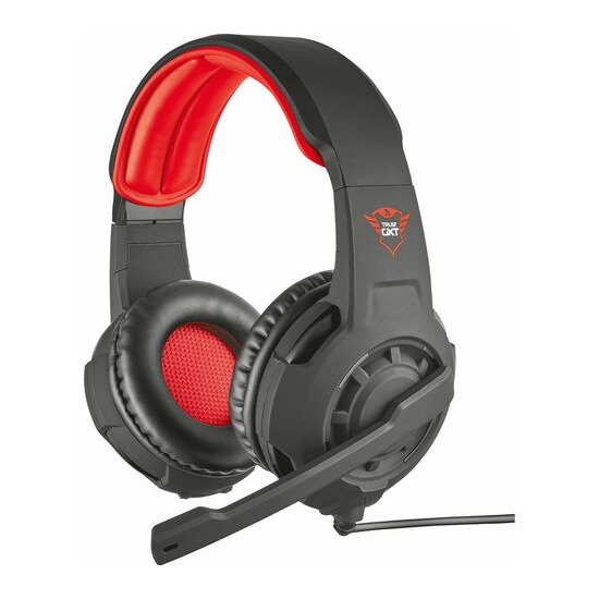 TRUST GXT 310 Radius Gaming Headset - Black & Red