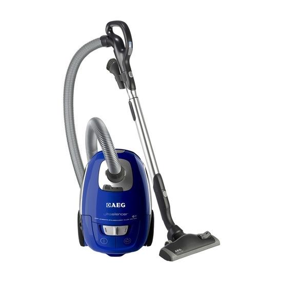 AEG AUS3966P Ultra Silencer Cylinder Vacuum Cleaner - Deep Blue