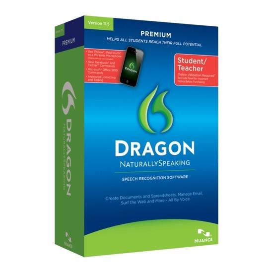 Nuance Dragon NaturallySpeaking 11.5
