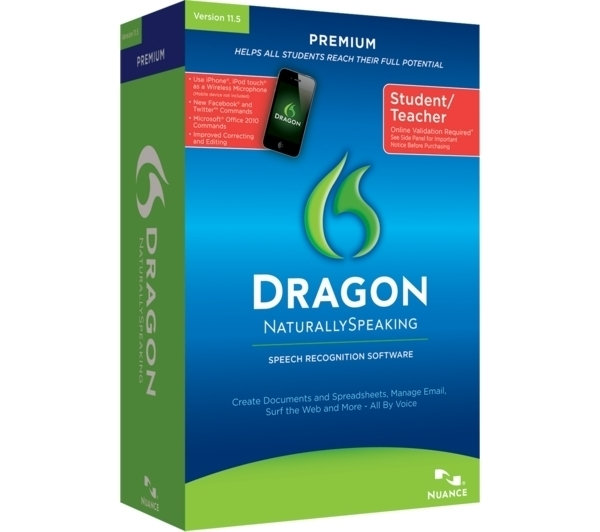 7 product ratings - NUANCE Dragon Naturally Speaking Premium Student teacher 13 version Sealed NEW $ Trending at $ Trending price is based on prices over last 90 days.