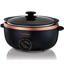 Morphy Richards Evoke Sear & Stew 461016 Slow Cooker - Black & Rose Gold Reviews