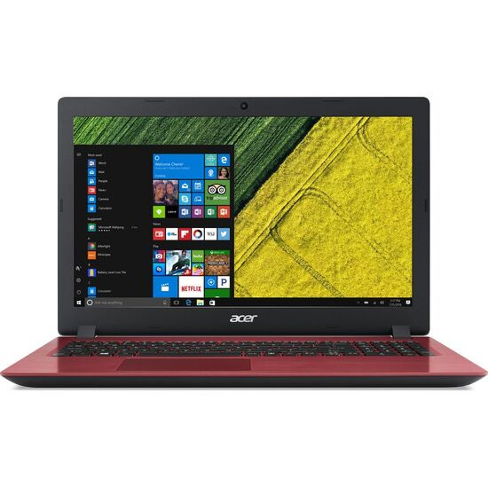 ACER Aspire 3 15.6 Intel Core i3 Laptop 1 TB HDD Red
