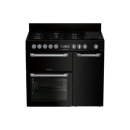Leisure PR100F530K 100 cm Dual Fuel Range Cooker - Black