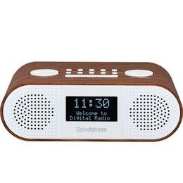 SANDSTROM S-DBTW18 DAB+/FM Bluetooth Clock Radio - Wood Reviews