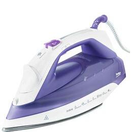 Beko SteamXtra Prosmart Steam Iron - Purple & White