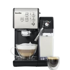 BREVILLE One-Touch VCF107 Coffee Machine - Black & Chrome Reviews