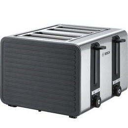 Silicone TAT7S45GB 4-Slice Toaster - Black and Grey Reviews