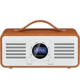 SANDSTROM SL-DBTB18 Portable DAB+/FM Bluetooth Radio - Brown Reviews