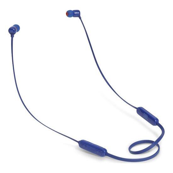JBL T110BT Wireless Bluetooth Headphones - Blue