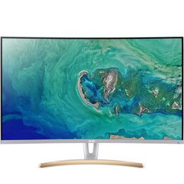 Acer ED323QURwidpx Quad HD 31.5 Curved VA LCD Monitor - White & Gold Reviews
