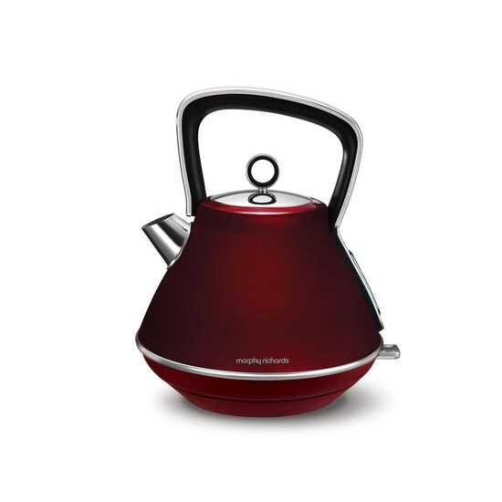 Morphy Richards Evoke One Traditional Kettle - Red