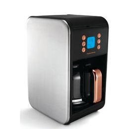 Morphy Richards Accents 162011 Filter Coffee Machine - Black & Rose Gold Reviews